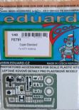 EDFE791 1/48 Dassault Super Etendard zoom etch (Kitty Hawk)